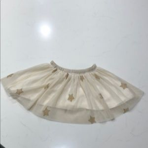 Zara Gold Star Tutu